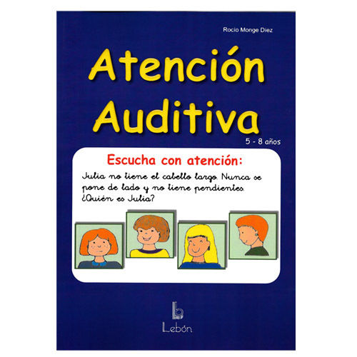 LIBRO -ATENCION AUDITIVA- (Lebon)